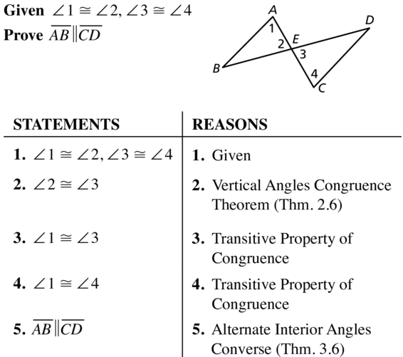 Big Ideas Math Geometry Answer Key Chapter 3 Parallel and Perpendicular Lines 3.3 a 35