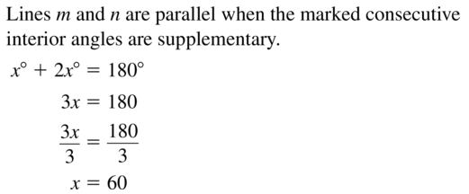Big Ideas Math Geometry Answer Key Chapter 3 Parallel and Perpendicular Lines 3.3 a 7