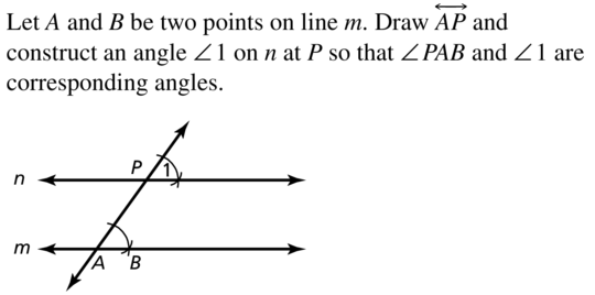 Big Ideas Math Geometry Answer Key Chapter 3 Parallel and Perpendicular Lines 3.3 a 9