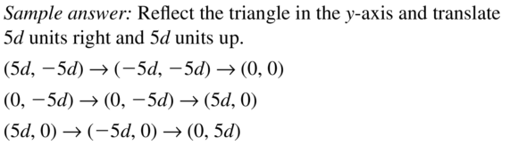 Big Ideas Math Geometry Answer Key Chapter 5 Congruent Triangles 5.8 a 25