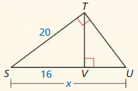 Big Ideas Math Geometry Answer Key Chapter 9 Right Triangles and Trigonometry 251