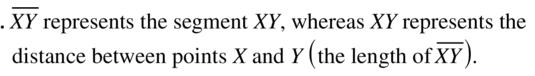 Big Ideas Math Geometry Answers Chapter 1 Basics of Geometry 1.2 a 1