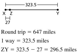 Big Ideas Math Geometry Answers Chapter 1 Basics of Geometry 1.2 a 33