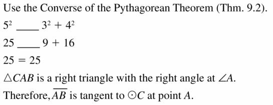 Big Ideas Math Geometry Answers Chapter 10 Circles 10.1 Ans 19