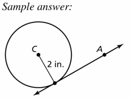 Big Ideas Math Geometry Answers Chapter 10 Circles 10.1 Ans 27