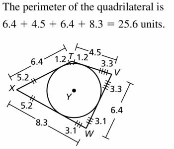 Big Ideas Math Geometry Answers Chapter 10 Circles 10.1 Ans 37