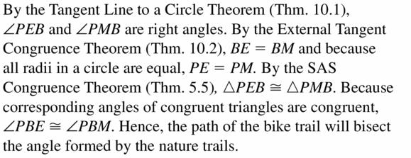 Big Ideas Math Geometry Answers Chapter 10 Circles 10.1 Ans 39