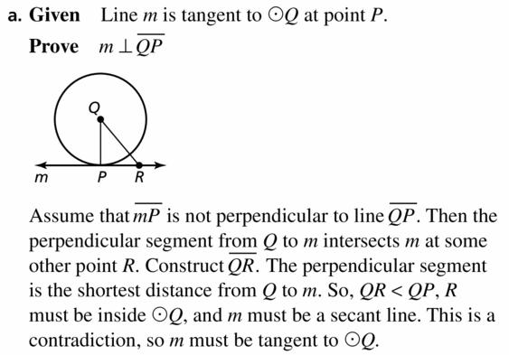 Big Ideas Math Geometry Answers Chapter 10 Circles 10.1 Ans 47.1