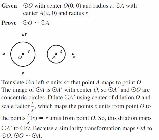 Big Ideas Math Geometry Answers Chapter 10 Circles 10.2 Ans 33