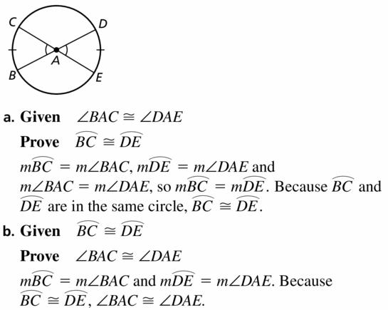 Big Ideas Math Geometry Answers Chapter 10 Circles 10.2 Ans 37