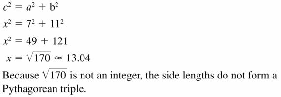 Big Ideas Math Geometry Answers Chapter 10 Circles 10.2 Ans 41
