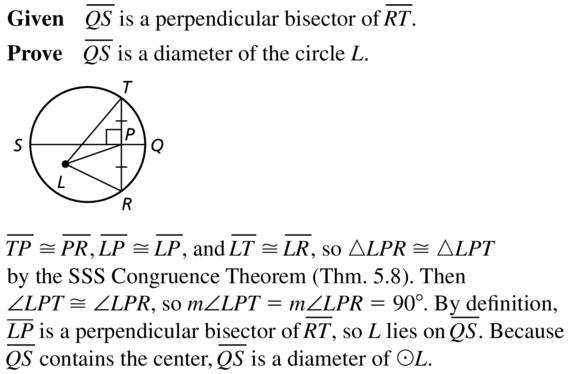 Big Ideas Math Geometry Answers Chapter 10 Circles 10.3 Ans 23