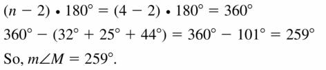 Big Ideas Math Geometry Answers Chapter 10 Circles 10.3 Ans 27