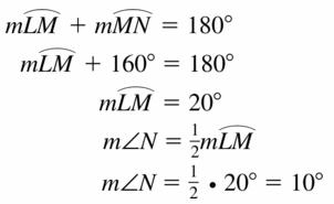 Big Ideas Math Geometry Answers Chapter 10 Circles 10.4 Ans 5