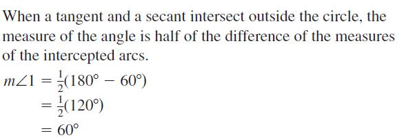 Big Ideas Math Geometry Answers Chapter 10 Circles 10.5 Ans 17
