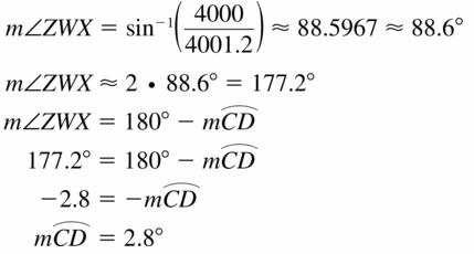Big Ideas Math Geometry Answers Chapter 10 Circles 10.5 Ans 23