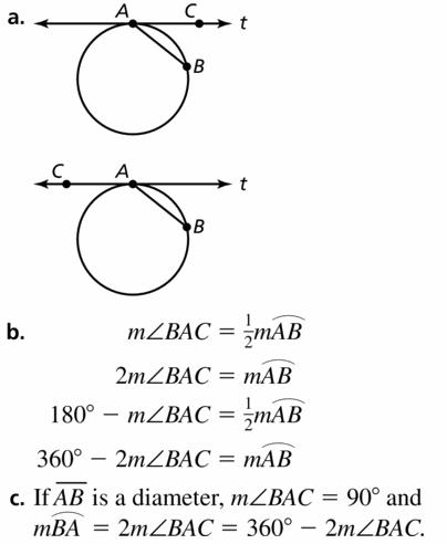 Big Ideas Math Geometry Answers Chapter 10 Circles 10.5 Ans 31