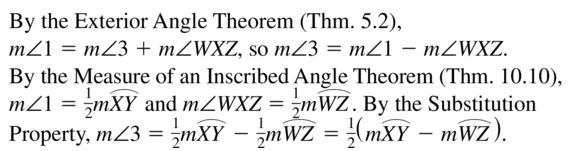 Big Ideas Math Geometry Answers Chapter 10 Circles 10.5 Ans 37.3