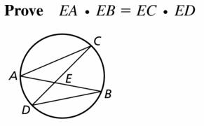 Big Ideas Math Geometry Answers Chapter 10 Circles 10.6 Ans 19.1