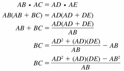 Big Ideas Math Geometry Answers Chapter 10 Circles 10.6 Ans 23