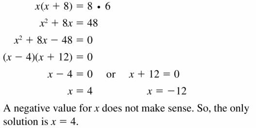 Big Ideas Math Geometry Answers Chapter 10 Circles 10.6 Ans 5