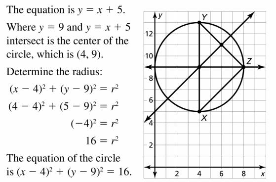 Big Ideas Math Geometry Answers Chapter 10 Circles 10.7 Ans 27.2