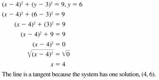 Big Ideas Math Geometry Answers Chapter 10 Circles 10.7 Ans 29.1