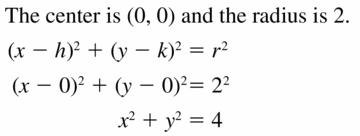 Big Ideas Math Geometry Answers Chapter 10 Circles 10.7 Ans 3