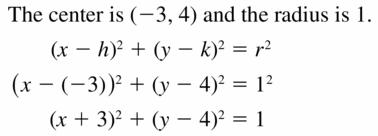 Big Ideas Math Geometry Answers Chapter 10 Circles 10.7 Ans 7