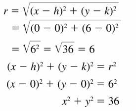 Big Ideas Math Geometry Answers Chapter 10 Circles 10.7 Ans 9
