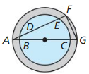 Big Ideas Math Geometry Answers Chapter 10 Circles 236