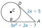 Big Ideas Math Geometry Answers Chapter 10 Circles 30