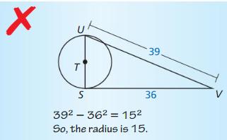 Big Ideas Math Geometry Answers Chapter 10 Circles 32