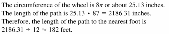 Big Ideas Math Geometry Answers Chapter 11 Circumference, Area, and Volume 11.1 Ques 13