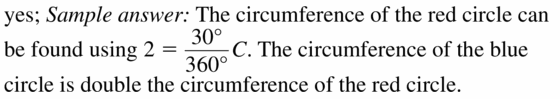 Big Ideas Math Geometry Answers Chapter 11 Circumference, Area, and Volume 11.1 Ques 37