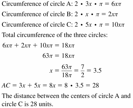 Big Ideas Math Geometry Answers Chapter 11 Circumference, Area, and Volume 11.1 Ques 39