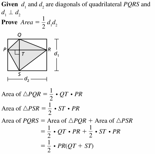 Big Ideas Math Geometry Answers Chapter 11 Circumference, Area, and Volume 11.3 Ques 43.1