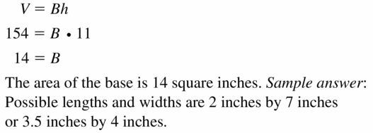 Big Ideas Math Geometry Answers Chapter 11 Circumference, Area, and Volume 11.5 Ques 23
