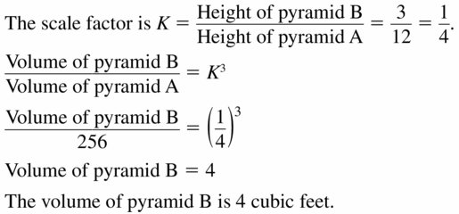 Big Ideas Math Geometry Answers Chapter 11 Circumference, Area, and Volume 11.6 Ques 15