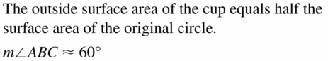 Big Ideas Math Geometry Answers Chapter 11 Circumference, Area, and Volume 11.7 Ques 23