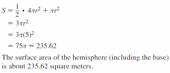Big Ideas Math Geometry Answers Chapter 11 Circumference, Area, and Volume 11.8 Ques 11