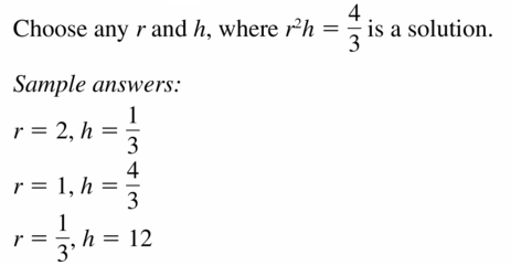 Big Ideas Math Geometry Answers Chapter 11 Circumference, Area, and Volume 11.8 Ques 45.2