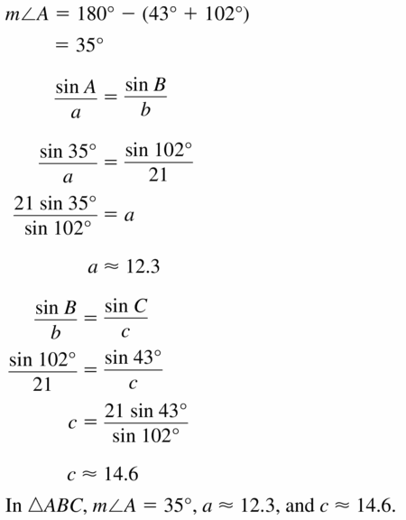 Big Ideas Math Geometry Answers Chapter 11 Circumference, Area, and Volume 11.8 Ques 49