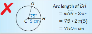 Big Ideas Math Geometry Answers Chapter 11 Circumference, Area, and Volume 20