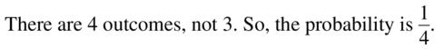 Big Ideas Math Geometry Answers Chapter 12 Probability 12.1 Qu 11