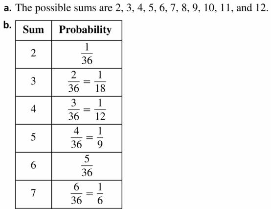 Big Ideas Math Geometry Answers Chapter 12 Probability 12.1 Qu 23.1