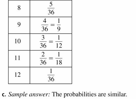 Big Ideas Math Geometry Answers Chapter 12 Probability 12.1 Qu 23.2