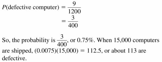 Big Ideas Math Geometry Answers Chapter 12 Probability 12.1 Qu 27