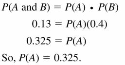 Big Ideas Math Geometry Answers Chapter 12 Probability 12.2 Qu 17