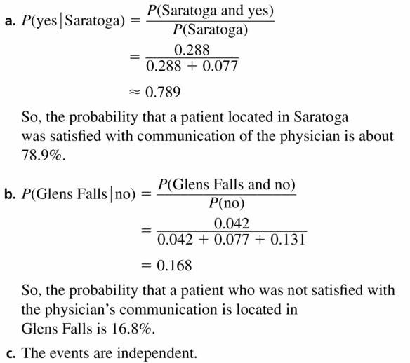 Big Ideas Math Geometry Answers Chapter 12 Probability 12.3 Qu 13